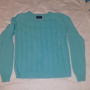 Lands End winter sweater